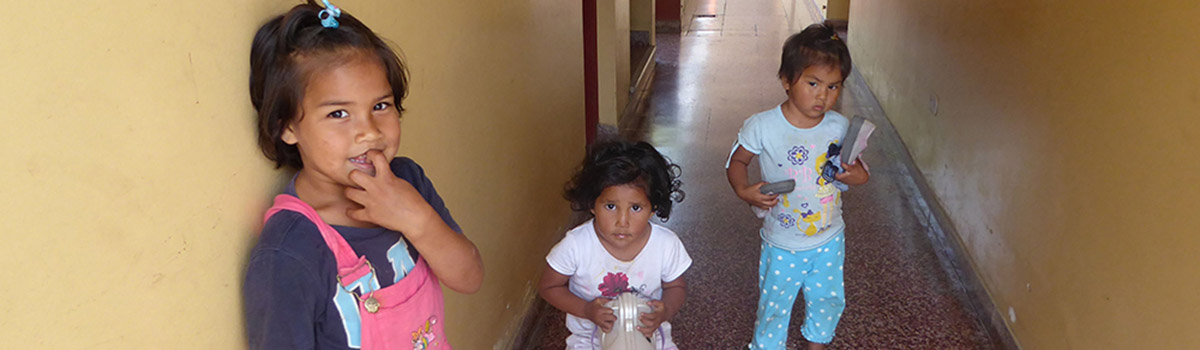 """Kinderheim """"Divina Providencia"""" in Trujillo"""